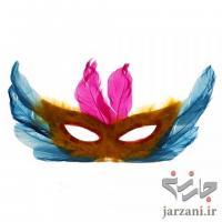 ماسک پردار کاغذی