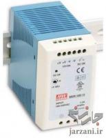 منبع تغذیه ریلی مین ول، MDR-20, MDR-60, HDR-60, EDR-120, EDR-150, NDR-240, NDR-480, Mean Well