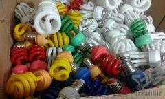 تعویض و تعمیر لامپ های کم مصرف سوخته یا شکسته