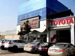 فروش بادگیر رادیاتور خودرو های تویوتا ولکسوس در نمایندگی تویوتا اورنگ