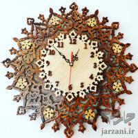 ساعت دیواری چوبی دستساز