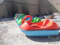 انواع قایق پدالی دو نفره و چهارنفره در طرح ها و رنگ های متنوع