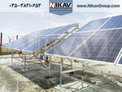 اجرای نیروگاه خورشیدی در سرتاسر کشور