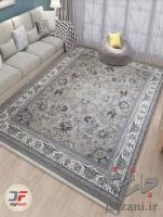 فرش زمینه طوسی، فرش ماشینی