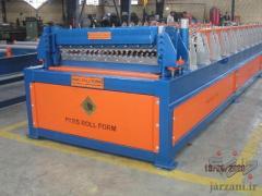 ساخت دستگاه تولید ورق سینوسی-پارس رول فرم