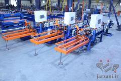 ساخت دستگاه تولید پروفیل اف47 سقف کاذب-پارس رول فرم-09121612740